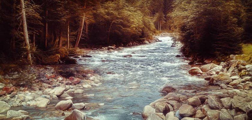 O que significa sonhar com rio