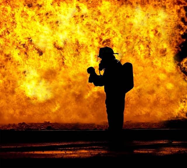 significado de sonhar com incêndio