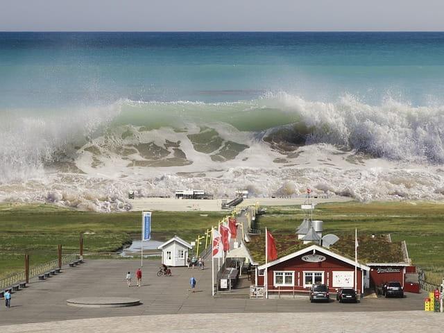 significado de sonhar com tsunami