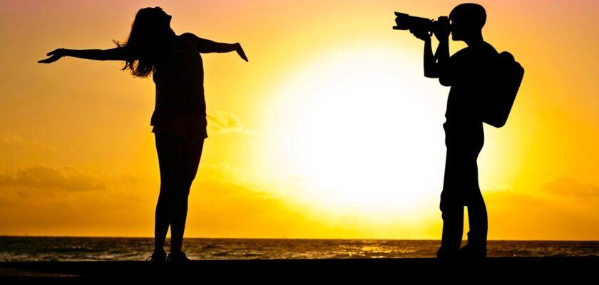 Sonhar tirando foto com namorado