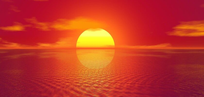 Sonhar com pôr do sol o que significa